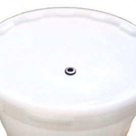 Ritchies Lid for 25 litre Bucket with Hole & Grommet