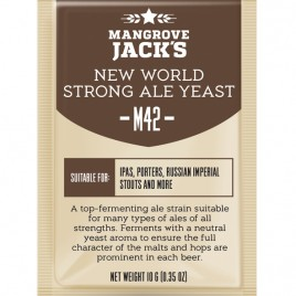 Mangrove Jack's Craft Series Yeast – M42 New World Strong