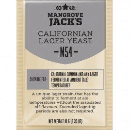 Mangrove Jack's Craft Series Yeast – M54 California Lager