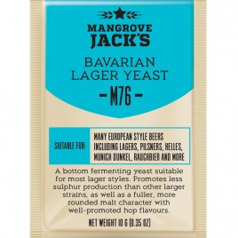 Mangrove Jack's Craft Series Yeast – M76 Bavarian Lager
