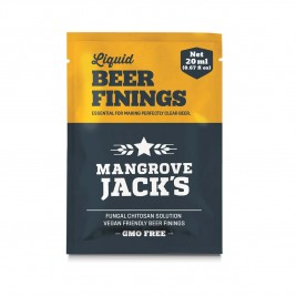 Mangrove Jack's Vegan Liquid Beer Finings Sachet 20g