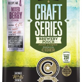 Mangrove Jack's Craft Series –  Mixed Berry Cider  2.4kg