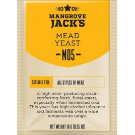 Mangrove Jack's Craft Series Yeast – M05 Mead
