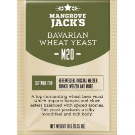 Mangrove Jack's Craft Series Yeast – M20 Bavarian Wheat Beer