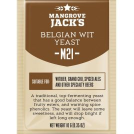 Mangrove Jack's Craft Series Yeast – M21 Belgian Wit