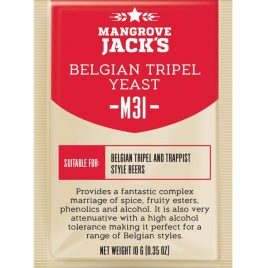 Mangrove Jack's Craft Series Yeast – M31 Belgian Tripel